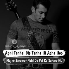 Hassanツ Shyari Quotes, True Quotes, Motivational Quotes, Attitude Thoughts, Attitude Quotes For Boys, Quotes About Hate, Love Quotes In Hindi, Salman Khan Quotes, Dosti Quotes
