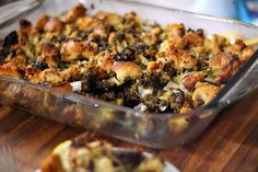 Oyster Sausage Stuffing Recipe http://cookinginbliss.com/oyster-sausage-stuffing-recipe/ #recipes