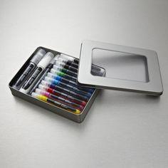Liquitex Marker Tin Set of 14 Assorted Colours #MAKEXMAS