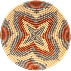 These baskets are beautifually handwoven out of hand spun sisal fibers over robust grass coils.