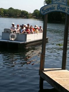 I love to take out-of-town visitors on this off-the-beaten path boat tour which is about an hour long boat ride and a unique way to see some of the beautiful homes in Winter Park and Florida wildlife. It's relatively in-expensive ($12 per adult, $6 for kids, children 2 and under are free). They also have group and private tour rates. Before or after the tour be sure to check out the restaurants, shops and public park on Park Avenue which is a short walk away. One more thing, I recommend…