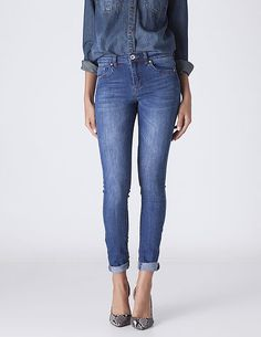 SuiteBlanco- Jeans super skinny high rise