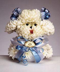 Heavy Petal » Poodle flower arrangement