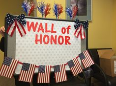 """In full support of May 2016 being National Military Appreciation Month, Diagnostic Imaging Services has had each of our facilities create a """"Wall of Honor"""" in which we will proudly display photos of military service personnel that are provided to us by patients. For each photo provided to us, DIS will make a donation to the Louisiana/Mississippi chapter of Operation Homefront."""