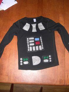 Darth Vader- running tank for TOT w/cape?