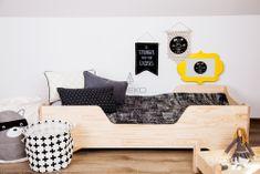 Łóżko drewniane BOX 1 80x150cm