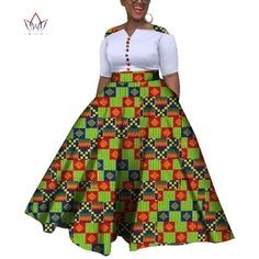 Image of 2019 African Dresses For Women Dashiki African Dresses For Women Colorful Daily Wedding Size Ankle-Length Dress African Dresses For Kids, Ankara Styles For Kids, African Fashion Ankara, African Dresses For Women, African Print Dresses, African Print Fashion, African Attire, African Clothes, Best African Dress Designs