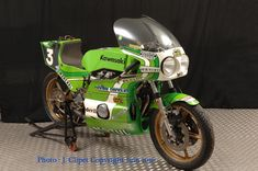 Kawasaki 998 Godier Genoud Bol d'or 1976 Boulom/Sarron
