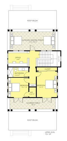 A-Frame Contemporary Retro House Plan 95007 | Window wall, Wall ...