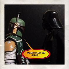 """ No me sirve muerto""  Follow: @photoygraphy507  #darthvader #theforceawakens #stormtrooper #disney #jedi #sith #love #lego #starwarsfan #yoda #art #r2d2 #marvel #hansolo #bobafett #lukeskywalker #geek #forcefriday #cosplay #darkside #chewbacca #nerd #lightsaber #toys #theforce #instagood #kyloren #episode8 #c3po #thelastjedi"