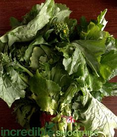 broccoli rabe smoothies