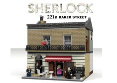 """""""The name is Sherlock Holmes, and the address is 221b Baker Street!"""" With Season 4 just around the corner, I saw it only fitting that I should endeavor to create something tha..."""