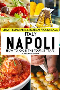 Do you want to eat for less in Naples (Italy), avoiding the horrible tourist traps? This guide is for you! Written by a local foodie, it includes the best eats in town, with useful addresses and detailed info on what you can eat and where. Not only pizza, Napoli Italy, Rome Italy, Napoli Food, Venice Italy, Italy Travel Tips, Travel Trip, Beach Travel, Italy Food, Italy Tours