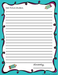 Future Student Letter ~ End of the Year Activity from The Teaching Bank on TeachersNotebook.com (5 pages)