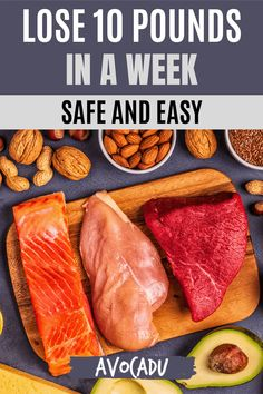Need to lose 10 pounds in a week? We'll share the easiest ways to drop lots of weight fast while staying safe and healthy! #avocadu #lose10pounds #loseweightfast #loseweightinaweek