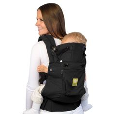 Lillebaby Original Charcoal & Black w/pocket.  A wonderful soft structure carrier for any babywearing. Infant to toddler. No insert needed.