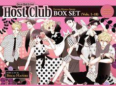 Ouran High School Host Club Graphic Novel Box Set (1-18)