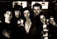 #tbt Pearl Jam with The Cult. Finsbury Park, London 1992