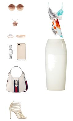 """House of Madalani"" by houseofmadalani on Polyvore featuring Christian Siriano, Roland Mouret, Casadei, Gucci, Linda Farrow, Chanel, Lana Jewelry and Allurez"