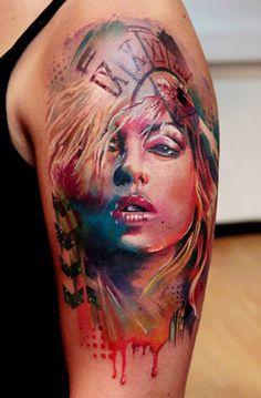 Tattoo Artist - Pavol Krim Tattoo - face tattoo - www.worldtattoogallery.com