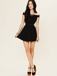 Three Floor Sibling Bandeau Skater Dress at Free People Clothing Boutique
