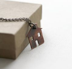 La petite maison in Copper by PeculiarForest on Etsy
