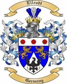 Elrod family crest