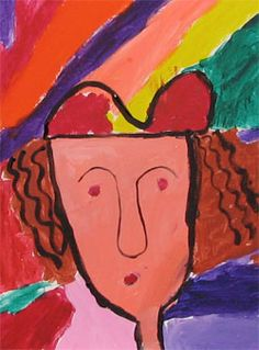 GEORGES ROUAULT PORTRAITS     Portrait Painting in the style of Georges Rouault