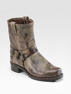 b3b3948d47ac0 Frye Vintage Leather Harness Boots on shopstyle.co.uk