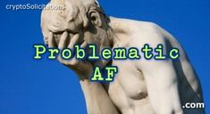 ProblematicAF.com is available. #problem #problematic #AF #cryptosolicitations #slangdomains #dotcom #forsale Rings For Men, Dots, Stitches, Men Rings