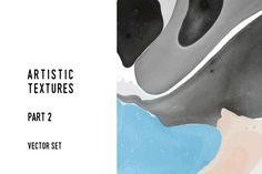 Artistic textures. Part 2 by Lera Efremova on @creativemarket