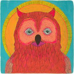 Owl No. 1, by  Lisa Congdon - 20x200.com