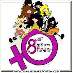 OLA-LA ROPA DEPORTIVA… Les desea a todas esas mujeres que inspiran al mundo con su existir un feliz día, a las mujeres apasionadas, a las que son lindas, a las que son inteligentes, a las que son atrevidas, a las guerreras, a las grandes soñadoras y también a las complicadas, feliz día de la mujer!!! www.ola-laropadeportiva.com  #8demarzo #Díadelamujer #Mujeresamantesdelfitness #Mujeresamantesdelgym
