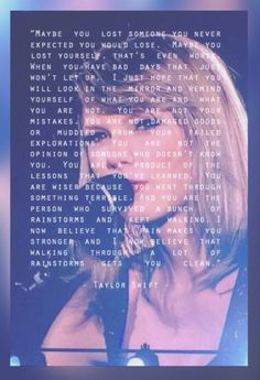 I would just like to take a second to personally thank Taylor Swift for saving my life (multiple times).