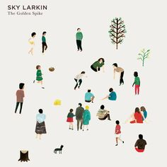 Sky Larkin album cover design by Nous Vous. (via Spaceships)    (via hysysk)