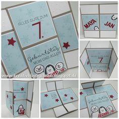 Kreativ Blog by Claudi: Endless Card - Adventskalender für Jedermann