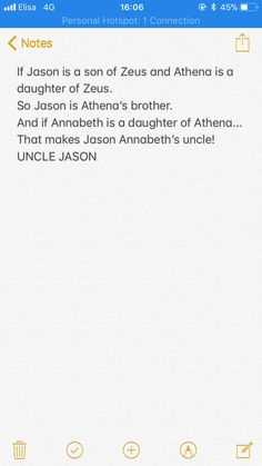 UNCLE JASON why they didn't realize that in the books!? I mean, can you imagine the magnitude of jokes!???
