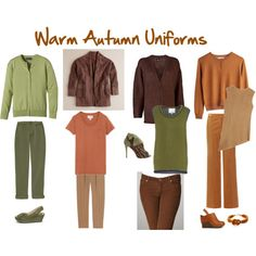 Warm Autumn Uniforms