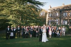 Whirlowbrook Hall Group Wedding Photo November