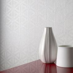 Gloriental Marble White Wallpaper by Graham and Brown
