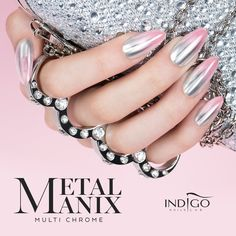 MetalManix Multi Chrome | Indigo Nails
