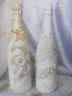свадебная бутылка декоративная роскошь - Recherche Google