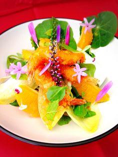 Menú cinco sentidos, una propuesta de nuestro chef José Manuel Castro para Cook In House con flores comestibles