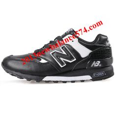 New Balance M577BW Black White Men Shoes,Half Off New Balance Shoes 2013 Cheap
