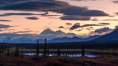 """I Was Stuck Doing Measurements Along The Parks Highway On Labor Day, But View From My """"office"""" Made It Worth While. Denali, Alaska [oc] [3066x1725]"""