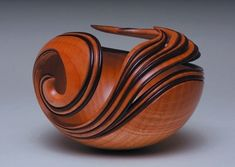 leon lacoursiere art | Leon Lacoursiere | Katrina, 2006, Curly Maple.
