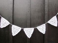 Christmas Crochet Bunting