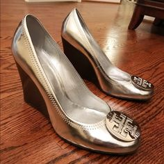 aa8508c32 19 Best Silver wedges images