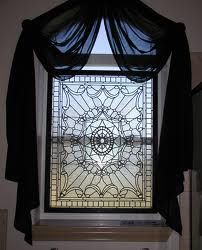 1000 images about etched glass on pinterest etched for Decorative window film stained glass victorian