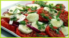 weight watchers best recipes | Tomato, Onion & Cucumber Salad Plus+ 2 Per Serving - weight watchers recipes